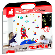 Buy Janod Glow-In-The-Dark Magneti'Stick Stickers Online at johnlewis.com