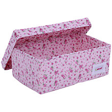 Buy Minene Pink Flower Small Box Online at johnlewis.com