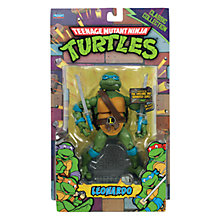 Buy Teenage Mutant Ninja Turtles Leonardo Classic Figure Online at johnlewis.com