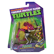 Buy Teenage Mutant Ninja Turtles Fishface Action Figure Online at johnlewis.com