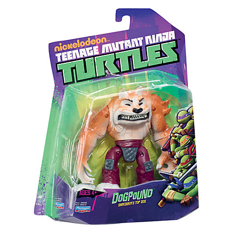 Buy Teenage Mutant Ninja Turtles Dogpound Action Figure Online at johnlewis.com