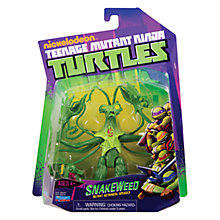 Buy Teenage Mutant Ninja Turtles Snakeweed Action Figure Online at johnlewis.com