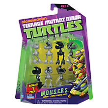 Buy Teenage Mutant Ninja Turtles Mousers Figures, Pack of 7 Online at johnlewis.com
