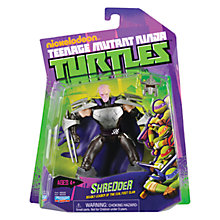 Buy Teenage Mutant Ninja Turtles Shredder Action Figure Online at johnlewis.com
