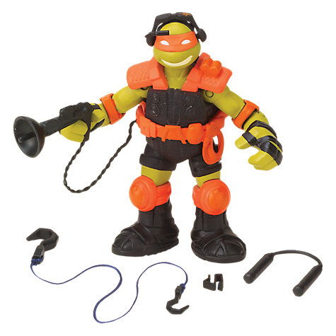 Buy Teenage Mutant Ninja Turtles Stealth Tech Michelangelo Figure Online at johnlewis.com