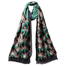 Buy East Feather Silk Layer Scarf, Multi Online at johnlewis.com