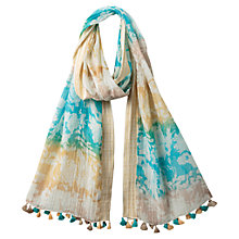 Buy East Chelsea Floral Border Scarf, Multi Online at johnlewis.com