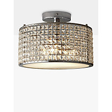 Buy i4DZINE Victory Crystal Bathroom Semi-Flush Light Online at johnlewis.com