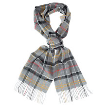 Buy Barbour Tartan Scarf, Tan Online at johnlewis.com