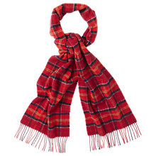 Buy Barbour Tartan Lambswool Scarf Online at johnlewis.com