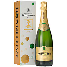 Buy Tattinger Fifa World Cup Gift Box, 0.75L Online at johnlewis.com
