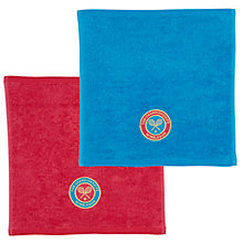 Buy Wimbledon Ladies Championship Facecloths, Pack of 2 Online at johnlewis.com