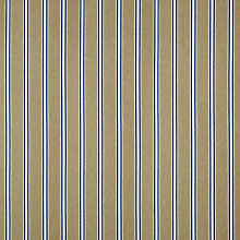 Buy Ian Mankin Deckchair Canvas Fabric, Wicket Stripe, Indigo Online at johnlewis.com
