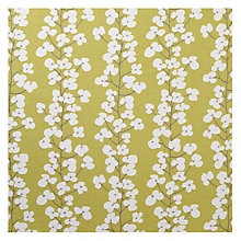 Buy John Lewis Wallflower Curtain, New Fennel Online at johnlewis.com