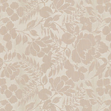 Buy John Lewis Wild Woven Floral Garden Curtain, Vanilla Online at johnlewis.com