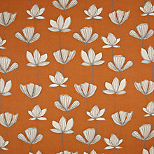 Buy John Lewis Gingko Curtain, Clementine Online at johnlewis.com