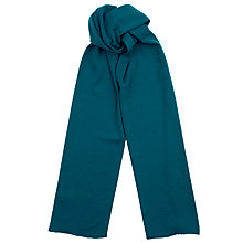 Buy John Smedley Dovedale Scarf, Midnight Blue Online at johnlewis.com
