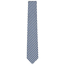 Buy Reiss Gilbert Directional Linen Tie, Blue Online at johnlewis.com
