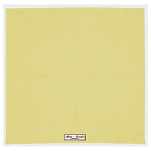 Buy Reiss Yacht Piped Linen Pocket Square, Yellow Online at johnlewis.com