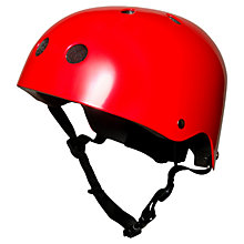 Buy Kiddimoto Metallic Red Helmet, Small Online at johnlewis.com
