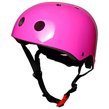 Buy Kiddimoto Neon Pink Helmet, Small Online at johnlewis.com