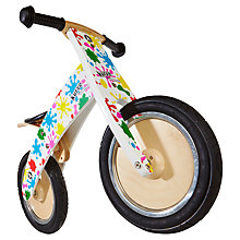 Buy Kiddimoto Kurve Balance Bike, Splatz Online at johnlewis.com