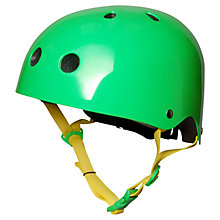 Buy Kiddimoto Neon Green Helmet, Small Online at johnlewis.com