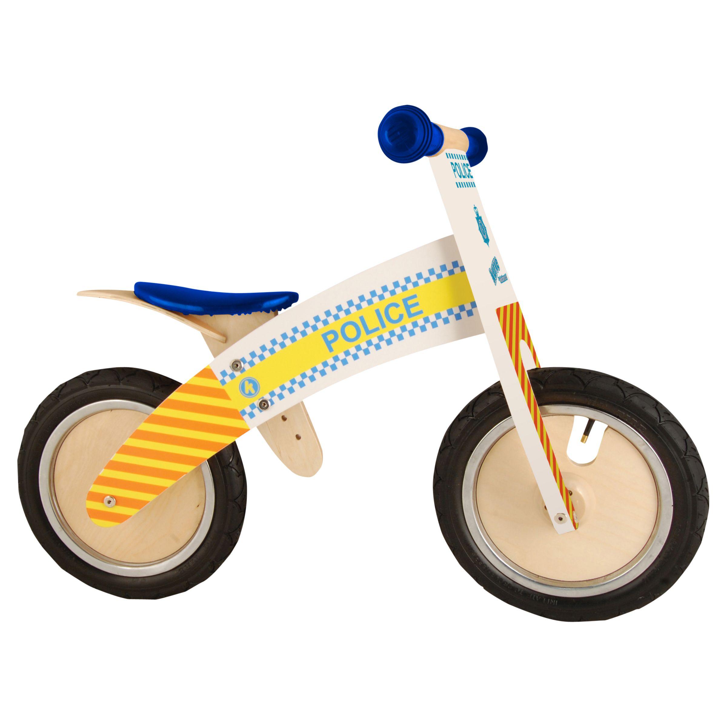 Kiddimoto Kiddimoto Kurve Balance Bike, Police
