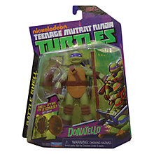 Buy Teenage Mutant Ninja Turtles Donatello Battle Shell Figure Online at johnlewis.com