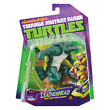 Buy Teenage Mutant Ninja Turtles Leatherhead Action Figure Online at johnlewis.com