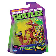 Buy Teenage Mutant Ninja Turtles Squirrelanoid Action Figure Online at johnlewis.com