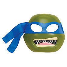 Buy Teenage Mutant Ninja Turtles Leonardo Deluxe Mask with Dressing-Up Shell Online at johnlewis.com