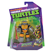 Buy Teenage Mutant Ninja Turtles Metalhead Action Figure Online at johnlewis.com
