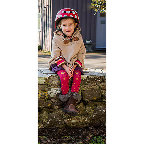 Buy Kiddimoto Red Dotty Helmet, Small Online at johnlewis.com