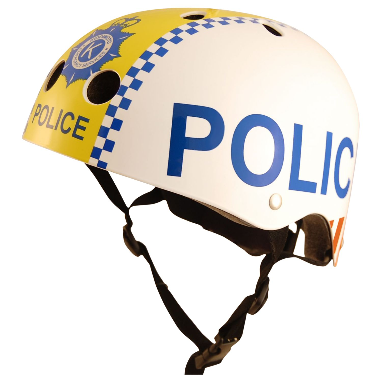 Kiddimoto Kiddimoto Children's Police Scooter & Bike Helmet, Small