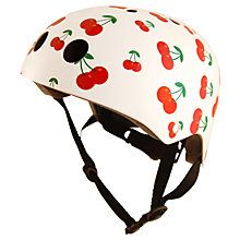 Buy Kiddimoto Cherry Helmet, Small Online at johnlewis.com