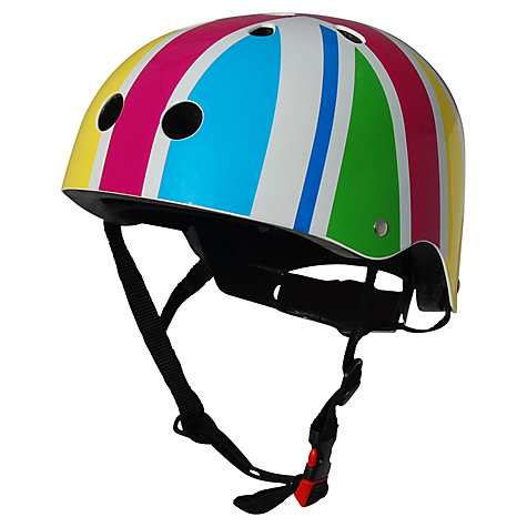 Buy Kiddimoto Rainbow Union Jack Helmet, Small Online at johnlewis.com