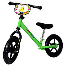 Buy Kiddimoto Junior Balance Bike, Neon Green Online at johnlewis.com