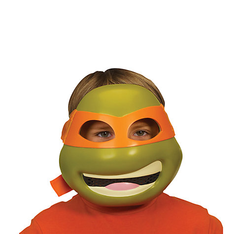 Buy Teenage Mutant Ninja Turtles Michelangelo Deluxe Mask Online at johnlewis.com