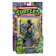 Buy Teenage Mutant Ninja Turtles Rocksteady Classic Figure Online at johnlewis.com