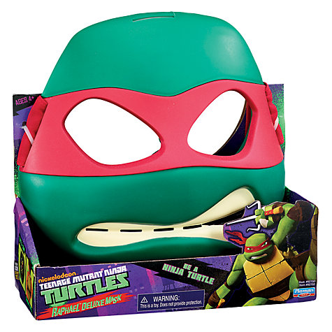 Buy Teenage Mutant Ninja Turtles Raphael Deluxe Mask Online at johnlewis.com