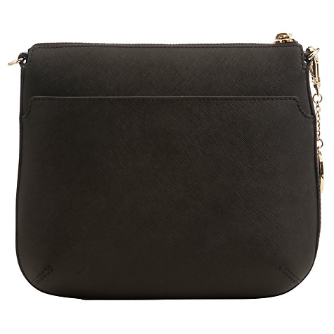 Buy DKNY Saffiano Leather Top Zip Across Body Bag Online at johnlewis.com