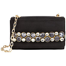 Buy Ted Baker Lummier Leather Clutch Handbag Online at johnlewis.com
