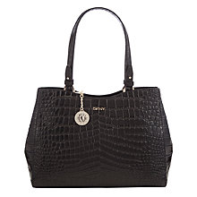 Buy DKNY Gramercy Crocodile Shopper Bag Online at johnlewis.com