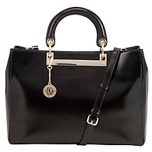 Buy DKNY Hudson Large Leather Shopper Bag Online at johnlewis.com