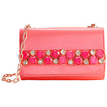 Buy Ted Baker Lummier Leather Clutch Bag Online at johnlewis.com