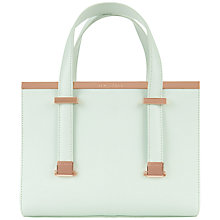 Buy Ted Baker Betties Leather Mini Tote Handbag Online at johnlewis.com