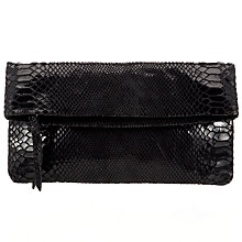 Buy COLLECTION by John Lewis Folded Leather Clutch Bag Online at johnlewis.com