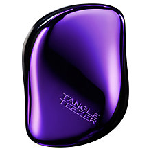 Buy Tangle Teezer Purple Dazzle Compact Styler Online at johnlewis.com