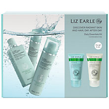 Buy Liz Earle Skincare Daily Essentials Kit, Combination / Oily Online at johnlewis.com